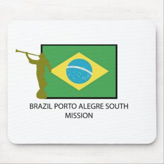 MISIÓN DEL SUR LDS DEL BRASIL PORTO ALEGRE MOUSE PADS