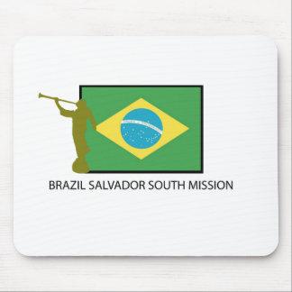 MISIÓN DEL SUR LDS DEL BRASIL SALVADOR ALFOMBRILLA DE RATON