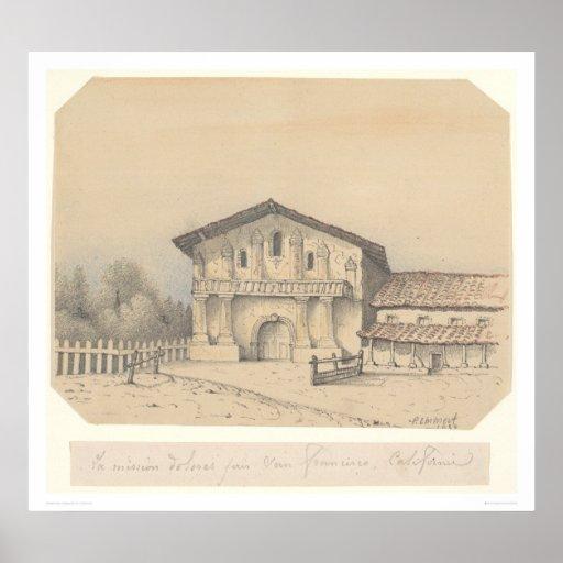 Misión Delores, San Francisco, CA (1205) del La Póster