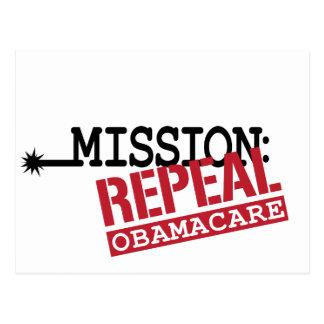 Misión Derogación ObamaCare Postal