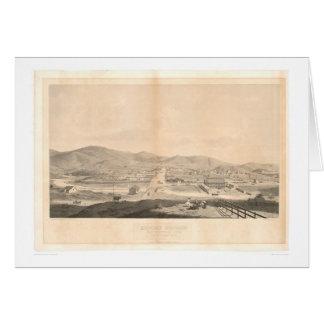 Misión Dolores, San Francisco 1860 (1097A) Tarjeta De Felicitación
