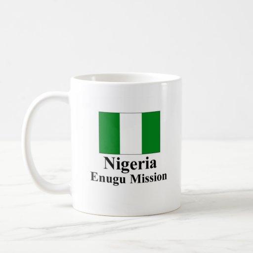 Misión Drinkware de Nigeria Enugu Taza Básica Blanca