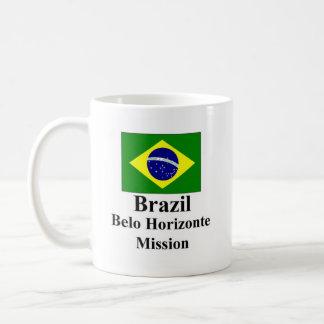 Misión Drinkware del Brasil Belo Horizonte Taza Clásica