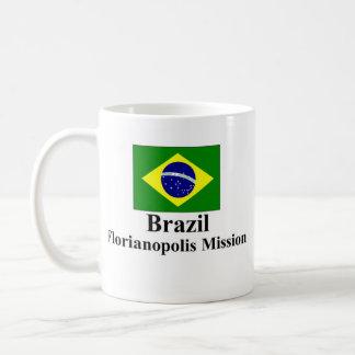 Misión Drinkware del Brasil Florianopolis Taza Clásica