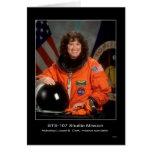 Misión en la que participa un trasbordador STS 107 Tarjeton