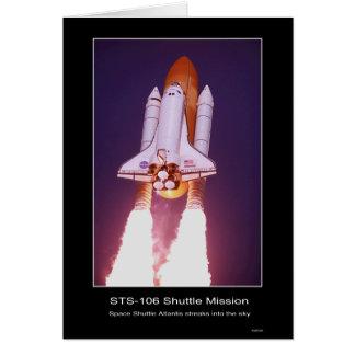 Misión en la que participa un trasbordador STS 107 Felicitaciones