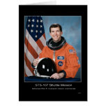 Misión en la que participa un trasbordador STS 107 Felicitación