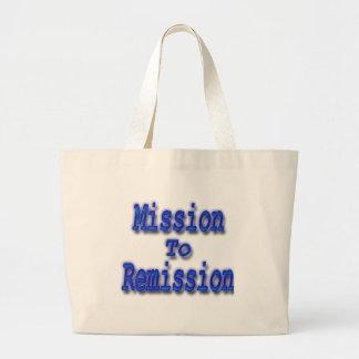Misión en la remisión azul bolsa