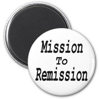 Misión en la remisión imán redondo 5 cm