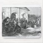 Misión española del Álamo Alfombrillas De Raton