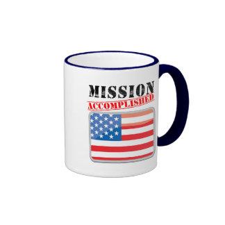 Misión Estados Unidos realizados Taza De Café