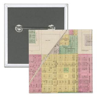 Misión, Galesburg, y Earlton de Osage, Kansas Pin