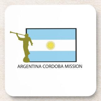 MISIÓN LDS DE LA ARGENTINA CÓRDOBA POSAVASOS DE BEBIDAS