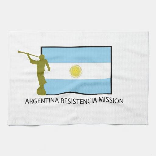 MISIÓN LDS DE LA ARGENTINA RESISTENCIA TOALLAS DE COCINA