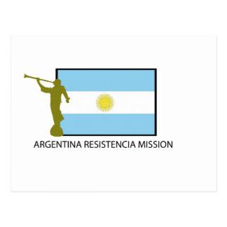 MISIÓN LDS DE LA ARGENTINA RESISTENCIA POSTALES