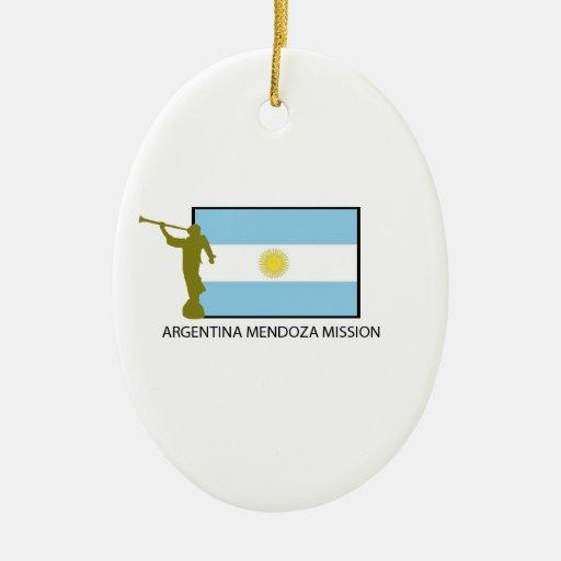 MISIÓN LDS DE MENDOZA DE LA ARGENTINA ADORNO PARA REYES