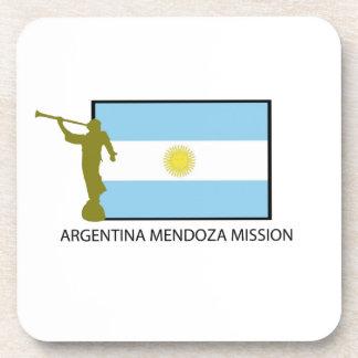 MISIÓN LDS DE MENDOZA DE LA ARGENTINA POSAVASOS