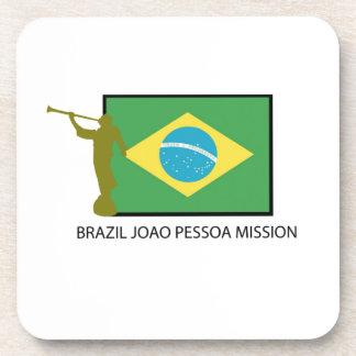 MISIÓN LDS DE PESSOA DE JOAO DEL BRASIL POSAVASOS