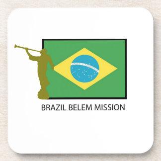 MISIÓN LDS DEL BRASIL BELEM POSAVASOS DE BEBIDA