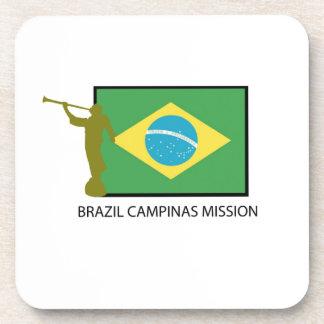 MISIÓN LDS DEL BRASIL CAMPINAS POSAVASOS DE BEBIDAS