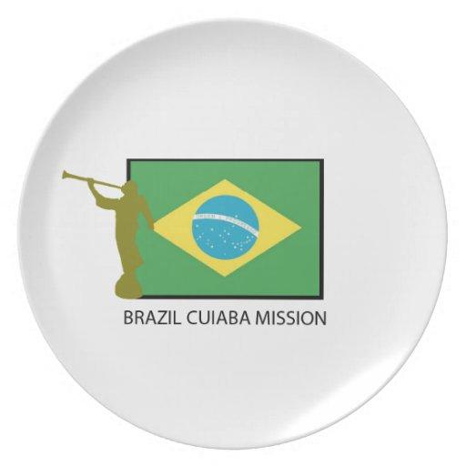 MISIÓN LDS DEL BRASIL CUIABA PLATO DE CENA