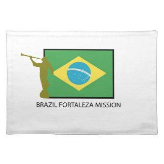 MISIÓN LDS DEL BRASIL FORTALEZA MANTELES INDIVIDUALES
