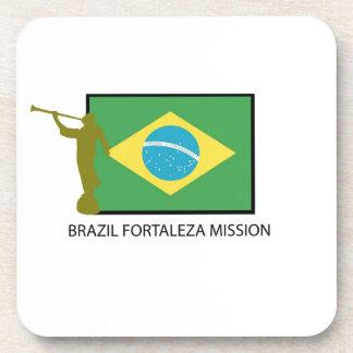 MISIÓN LDS DEL BRASIL FORTALEZA POSAVASOS DE BEBIDA
