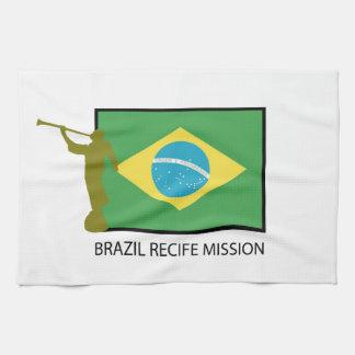 MISIÓN LDS DEL BRASIL RECIFE TOALLA