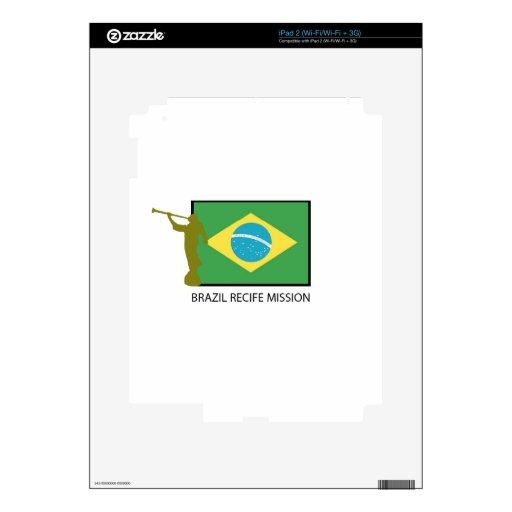 MISIÓN LDS DEL BRASIL RECIFE SKINS PARA eliPad 2