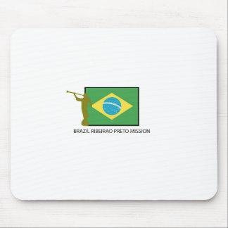 Misión LDS del Brasil Ribeirao Preto Mouse Pads