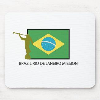 MISIÓN LDS DEL BRASIL RÍO DE JANEIRO ALFOMBRILLA DE RATON