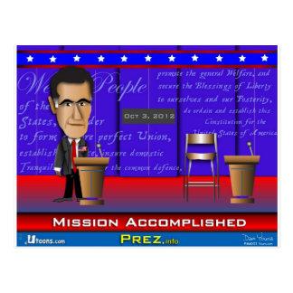 Misión lograda postal