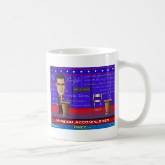 Misión lograda tazas de café