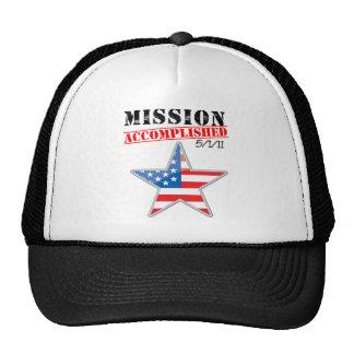 Misión los E.E.U.U. realizados Gorros
