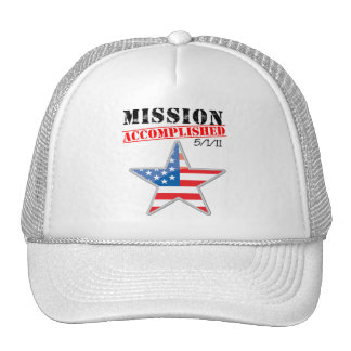 Misión los E.E.U.U. realizados Gorro