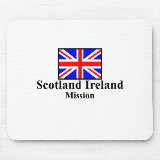 Misión Mousepad de Escocia Irlanda LDS