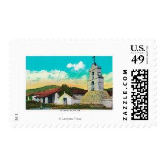 Misión San Antonio de PalaPala, CA Sello