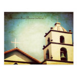 Misión San Buenaventura Tarjeta Postal