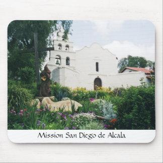 Misión San Diego de Alcala Alfombrilla De Ratones