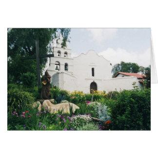Misión San Diego de Alcala Tarjeta De Felicitación