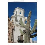 Misión San Javier del Bac de la tarjeta