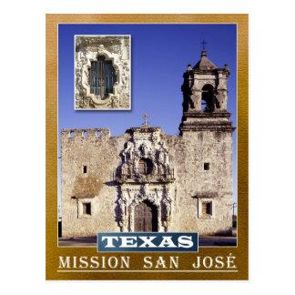 Misión San José, San Antonio, Tejas Postales
