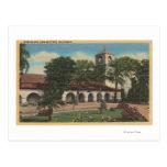 Misión San Juan Bautista, California Postales