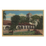Misión San Juan Bautista, California Posters