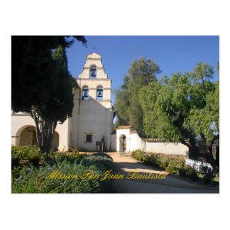 Misión San Juan Bautista Tarjetas Postales