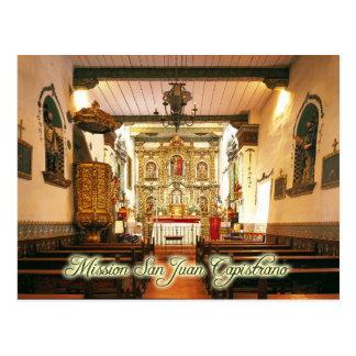 Misión San Juan Capistrano, California Postales