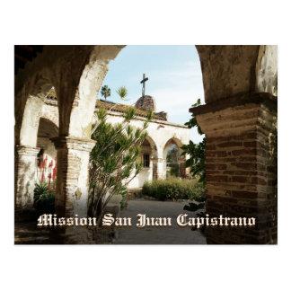 Misión San Juan Capistrano Tarjeta Postal