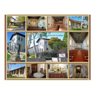 Misión San Luis Obispo Tarjetas Postales