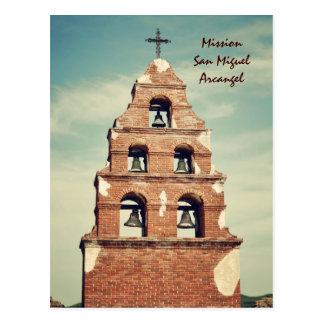 Misión San Miguel Arcangel Postal