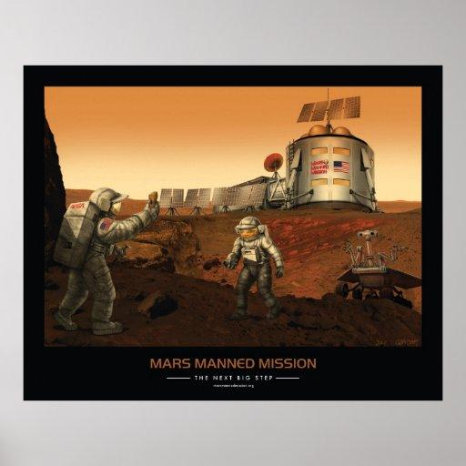 Misión servida de Marte Poster